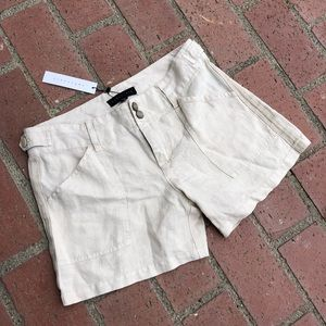 Sanctuary Anthropologie Linen Shorts Summer